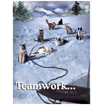 teamwork design image